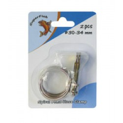 Collier serrage 37-42 mm x2
