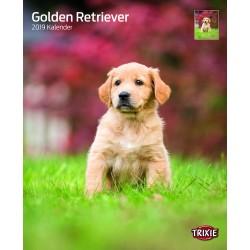 Calendrier goldens retriever