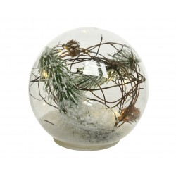 Boule verre a/microled...