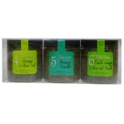 Trio thés verts
