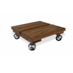 Support bois carre 30x30 bois
