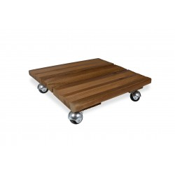 Support bois carre 40x40 bois