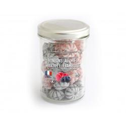 Bonbons framboise myrtille...