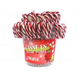 Sucre d'orge canne fraise...