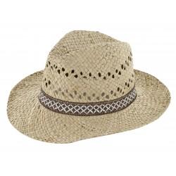 Chapeau jules beige ajustable