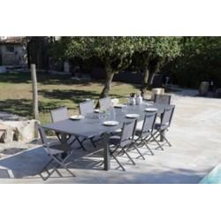 Nina table 320-grey