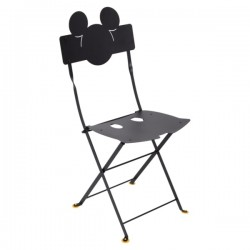 Chaise bistro mickey...