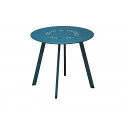 Table Basse Massaï 45 Bleue