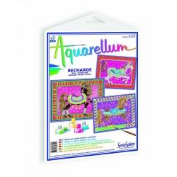 Recharge aquarellum chevaux...