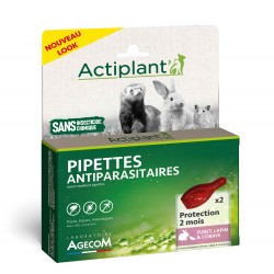 Pipettes antiparasitaire 2...
