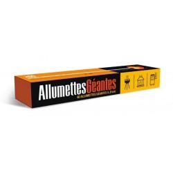 Allumettes longues X36