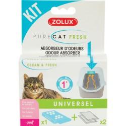 Kit anti-odeurs pure catfresh