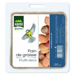 Pain graisse fruits secs...