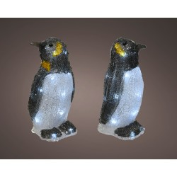 LED pingouin acryl...