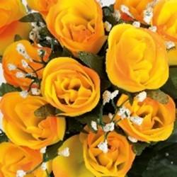 Boutons de roses 24tg fuch