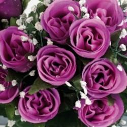 Boutons de roses 24tg lavand