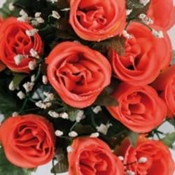 Boutons de roses 24tg saum