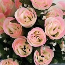 Boutons de roses 24tg blc