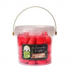 Petit seau fraises 180g